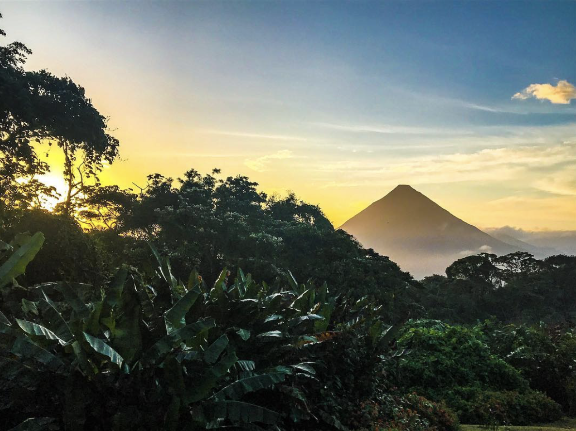 arenal costa rica || BLue Osa Travels